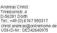 Impressum der Digital-TV Empfehlung Fersehen-Kabel.net